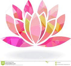 flor de loto vector - Buscar con Google