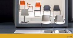 Weet meeting chair range / ORDER NOW FROM SPACEIST