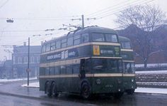 Nottingham Trolleybuses - The Last Years Nottingham City, Old Commercials, Double Decker Bus, Bus Coach, Busses, Chevrolet Trucks, Great British, Derbyshire, Train Station