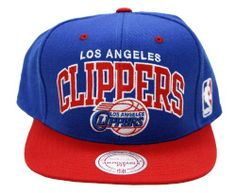 Los Angeles Clippers Mitchell & Ness Arch Snapback Adjustable Hat by Mitchell & Ness. Save 4 Off!. $24.99. Manufactured by Mitchell & Ness. Comfortable, easy to care 100% wool. Contrast top button, eyelets and visor for added style. High crown fit. NBA logoman on side and Mitchell & Ness logo on back. Original Mitchell and Ness Sanpback Cap NBA Vintage Snapback Cap Authentic NBA 2 Tone Color.