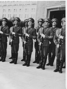 Mongolian People's Army Guard of Honor