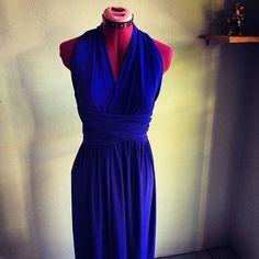 Infinity Dress Royal Blue FREE BANDEAU + SHIPPING Royal Blue Dresses, Infinity Dress, Originals, Wrap Dress, Trending Outfits, Formal Dresses, Free, Vintage, Fashion