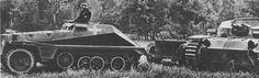 "SdKfz 252 leighte gepanzerte Munitionskraftwagen with its Sd Ah 3 1/1 trailer """