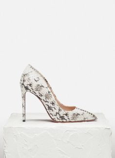 Printed Italian court shoe - See all - FOOTWEAR - Uterqüe United Kingdom