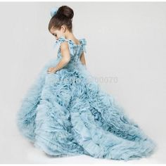 Find More Flower Girl Dresses Information about 2017 Pretty Flower Girls Dresses Ruched Tiered Ice Blue Puffy Girl Dresses for Wedding Girls Pageant Dresses Sweep Train,High Quality dress me prom dresses,China dress dying Suppliers, Cheap dresses dress up games from CDDRESSES Store on Aliexpress.com