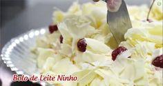 Bolo de Leite Ninho (passo a passo) - Emilia Leiko