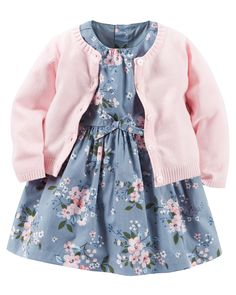 Baby Girl Clothes at Macy's come in a variety of styles and sizes. Shop Baby Girl Clothing at Macy's and find newborn girl clothes, toddler girl clothes, baby dresses and more. Little Girl Fashion, Kids Fashion, Style Fashion, Babies Fashion, Toddler Fashion, Dress Fashion, Trendy Fashion, Fashion Outfits, Carters Baby Girl