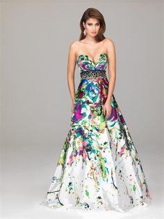 tie dye prom dresses | Prom Dresses | Pinterest | Prom dresses ...