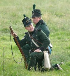 95th Rifles Waterloo Military Art, Military History, Military Fashion, British Soldier, British Army, Rifles, Old Warrior, War Of 1812, Action Poses
