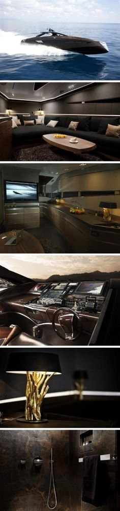 hedonist yacht by art of kinetik (13 pictures plus clip, Innedesign