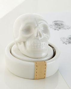 H8JJK The Arcadian Skull Stamp