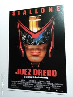 Postal de la película: Juez Dredo.