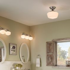 Shop Sea Gull Lighting  44438 Academy Three Light Wall/Bath Vanity at Lowe's Canada. Find our selection of bathroom vanity lighting at the lowest price guaranteed with price match + 10% off.