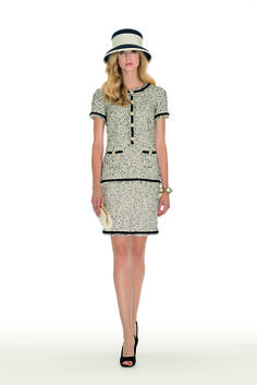 Luisa Spagnoli Bouclé-wool dress with jewel buttons