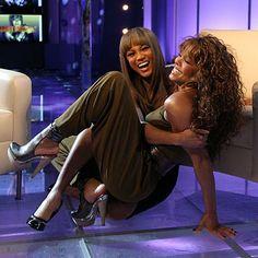 Bombshell Bond: Tyra Banks & Janet Jackson