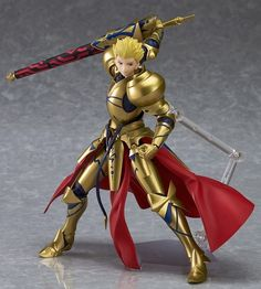 figma Archer/Gilgamesh  Mankind's oldest King of Heroes, joining the figma series at long last!