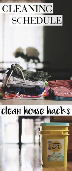 Clean House Hacks