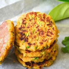 Super Easy Zucchini Chickpea Fritters