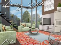 SimControl: Living slide by Pilar • Sims 4 Downloads