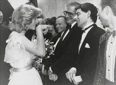 Lady Di meets Mr. Bean