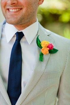 Wedding Boutonnieres   Colorful Wedding > Boutonnieres For The Boys #1837798 - Weddbook