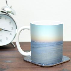 Sand Surf Sunshine by Robin Dickinson 11 oz. Beach Ceramic Coffee Mug