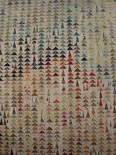 Geese in the Forest Japanese Quilt