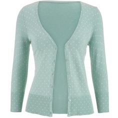 maurices The Classic Cardi In Dot Print