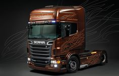 "Italeri 3897 Scania R730 ""Black Amber"""