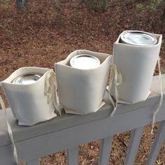 Zero Waste Mason Jar Nest bulk shopping bottles by atinyforest