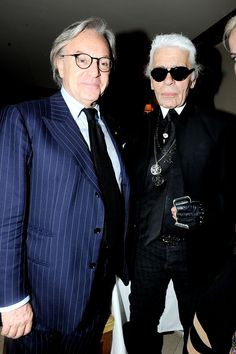 A Private Dinner With Karl Lagerfeld and Diego Della Valle