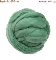 SALE 16 Micron Merino wool Roving Luxury Fiber for felters and spinner (Picnic)