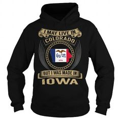 Awesome Tee Live in Colorado - Made in Iowa - Special T-Shirts