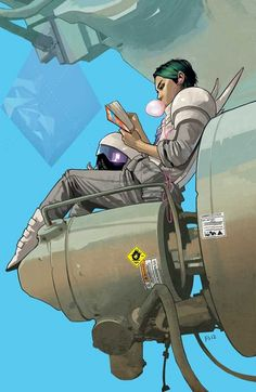 Saga #8 Cover Print, want this if they start reprinting!!