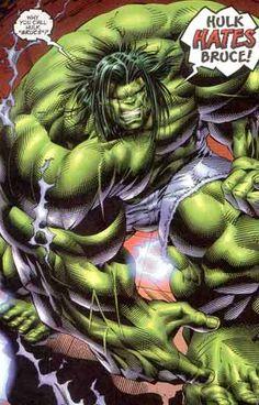 Hulk in Avengers vol 2 Hulk Comic, Hulk Marvel, Marvel Art, Marvel Heroes, Marvel Characters, Marvel Comics, Avengers, Comic Book Heroes, Comic Books Art