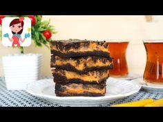 Bal Kabaklı Cheesecake Brownie (Videolu Tarif)   Kevserin Mutfağı - Yemek Tarifleri