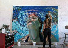 Retratos bajo el agua. SAMANTHA