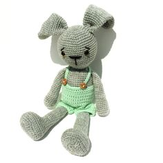 Amigurumi Rag Bunny by Exporium on Etsy