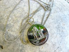 St Christopher necklace - the renowned Saint of all Travellers