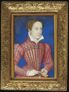 On this day in 1543 Mary Stuart was crowned Queen of Scotland. This portrait of Mary by Francois Clouet, dated circa 1558 by Holyrood House, possibly belonged to Queen Elizabeth I. Read about the painting's history: Mary Queen Of Scots, Queen Mary, Queen Elizabeth, James V Of Scotland, Maria Stuart, François Ii, Elizabethan Era, Royal Collection Trust, Stefan Zweig