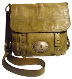 Fossil Pebbled Leather Olive Green Cross Body Bag. Get the trendiest Cross Body Bag of the season! The Fossil Pebbled Leather Olive Green Cross Body Bag is a top 10 member favorite on Tradesy. Save on yours before they are sold out!