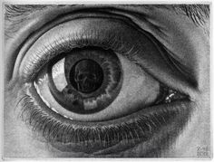 Maurits Cornelis ESCHER, The Eye (1946)