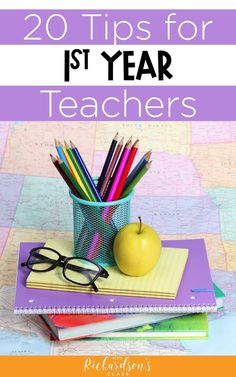 Here are some of the best tips for first year teachers.  From elementary to high school, all new teachers can benefit from some helpful ideas on classroom management, time management, involving parents, and more! #firstyearteacher #newteacher