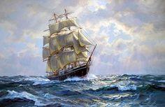 Charles Vickery. Ship JOSEPH CONRAD. J. Russell Jinishian Gallery, Inc.: