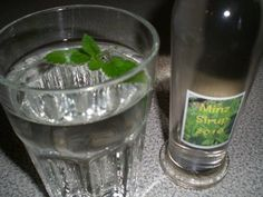 Minze-Sirup