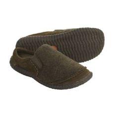 Acorn wool clogs