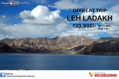 Get online amazing holiday deals for Leh Ladakh There are lots of things must visit in Ladakh #Panorama , #Flora and fauna, # Cultur,e #Cuisine, #Architecture  Call on: +91-9015823000