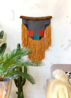 Hey, I found this really awesome Etsy listing at https://www.etsy.com/au/listing/490249071/the-beast-weaving-handwoven-wall-hanging
