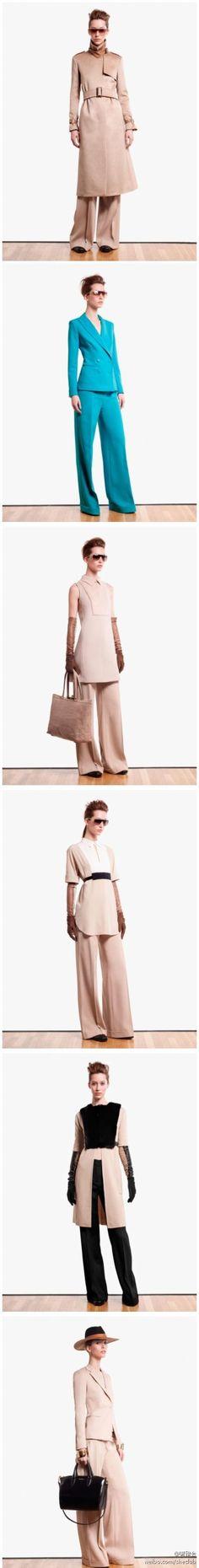 Pre-FallL 2013 Lookbook┃Max Mara Showcases Oversized Elegance for its Pre-Fall 2013 Collection