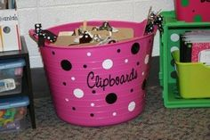 Neat idea -- always looking for a better way to store my class set of clipboards
